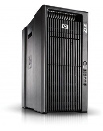 HP Z800 2x Quad Core X5570 2.93 GHz, 16GB (4x4GB), 256GB SSD, 2TB SATA HDD DVDRW, Quadro 2000, Win 10 Pro