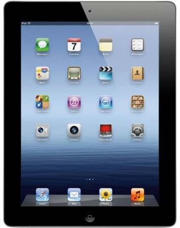 Apple iPad 4, 16GB, WiFi, Zwart