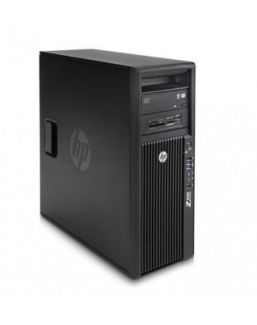 HP Z420 Quad Core E5-1603 2.80Ghz, 8 GB (2x4GB), 2TB HDD SATA/DVDRW, Quadro 600, Win 10 Pro
