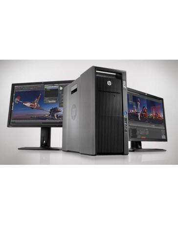 HP Z820 2x Xeon 8C E5-2670,128GB, 250GB SSD,DVDRW, K2000 2GB, Win 10 pro