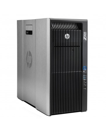 HP Z820 2x Xeon 6C E5-2643v2 3.50Ghz, 64GB, 256GB SSD/2TB HDD, M2000, Win 10 Pro