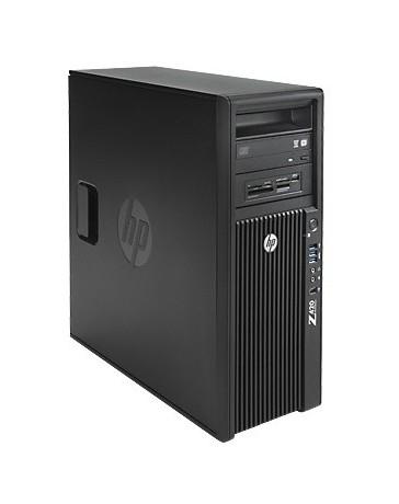 HP Z420 6C E5-1650 v2 3.5GHz, 64GB (8x8GB), 500GB SSD, 2TB SATA, DVDRW, Quadro K2000 2GB, Win 10 Pro