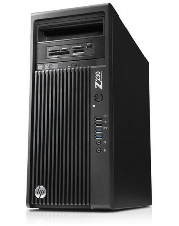 HP Z230 CMT Intel Xeon E3-1280v3 QC 3.50Ghz, 16GB, 256GB SSD, 2TB SATA, DVD,Quadro K2000 2GB, Win 10 Pro