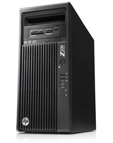 HP Z230 CMT Intel Xeon E3-1280v3 QC 3.50Ghz, 16GB, 256GB SSD, 2TB SATA, DVD,Quadro K2000 2GB, Win 10 Pro