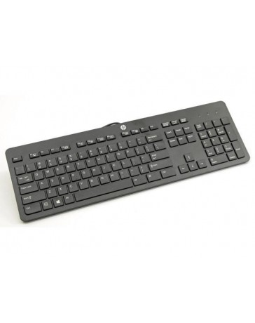 HP KU-1469 USB QWERTY US International Zwart toetsenbord