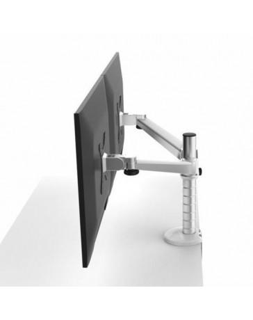 VLAAR Dubbele monitor arm