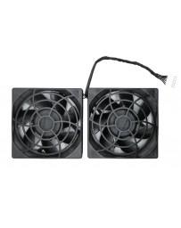 HP Z820 80mm 12VDC 0.35A Rear Dual Fan