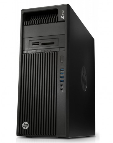 HP Z440 Workstation XEON E5-1620V3 16GB DDR3 256GB SSD 2TB SATA HDD Quadro K2200 Win 10 Pro