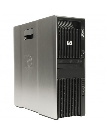 HP Z600 2x Quad Core X5677 3.46 GHz, 16GB DDR3, 240GB SSD 1TB HDD Quadro 5000 Win 10 Pro
