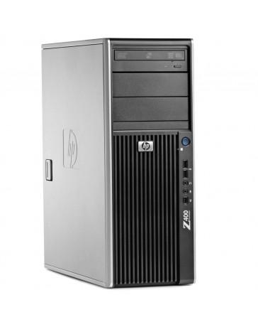 HP Z400 Workstation W3520 2.66GHz 8GB DDR3, 128GB SSD+1TB HDD SATA/DVDRW Quadro 2000 Win 10 Pro