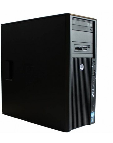 HP Z210 Workstation CMT QC Intel Xeon E-1225 3,10 GHz, 16GB DDR3, 180GB SSD, 500GB HDD SATA, DVD, K2000 2GB, Win 10 Pro