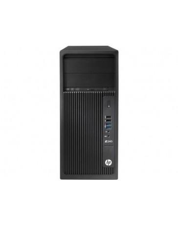 HP Z240 1x QC Intel Xeon E3-1280 v5 3.70 GHz, 32GB (4x8GB) DDR4, 256GB SSD + 2TB HDD SATA/DVDRW, Quadro K2200 4GB, Win 10 Pro