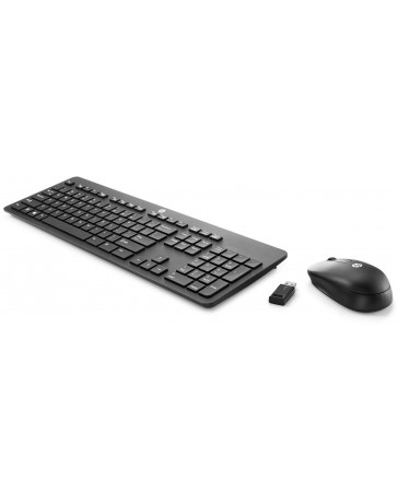 HP Wireless Business Slim (Qwerty US), Keyboard + Muis