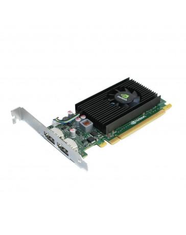 HP Nvidia NVS 310 512MB PCIe 2xDP LP - Refurbished
