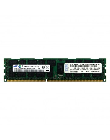IBM 8GB DDR3 2Rx4 PC3L-10600R 1333MHz CL9 1.35V ECC Reg - Refurbished