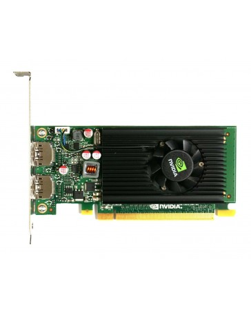 HP nVidia NVS310 512Mb PCIe 2xDP - Refurbished