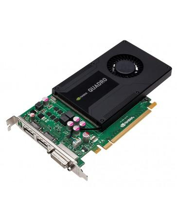 Dell Nvidia Quadro K2000 2GB PCIe 1xDVI 2xDP - Refurbished