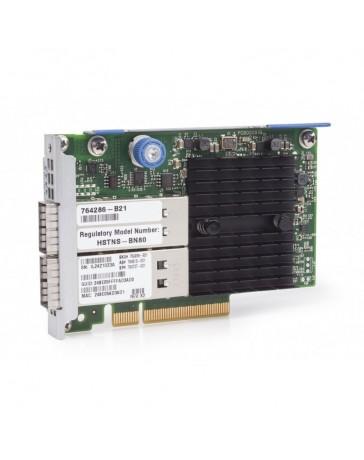 HPE InfiniBand QDR/Ethernet 10Gb 2-port 544+FLR-QSFP Adapter - Refurbished