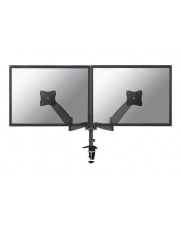 NewStar Full Motion Dual Desk Mount (clamp & grommet)