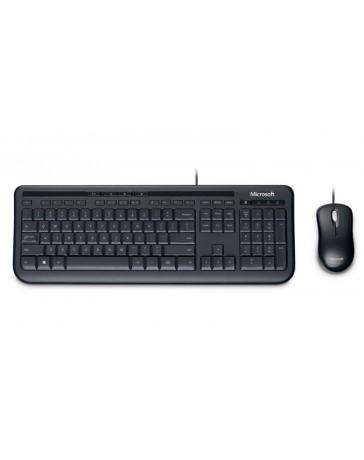 Microsoft Desktop Wired 600, Toetsenbord + Muis USB