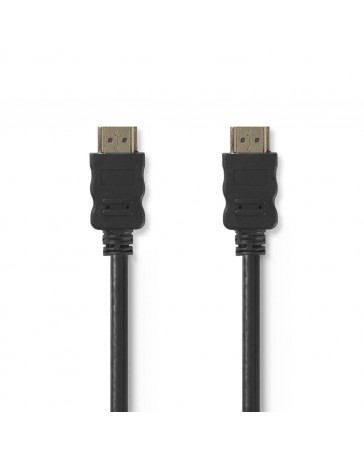 High Speed HDMI™-kabel met Ethernet | HDMI™-connector|Zwart