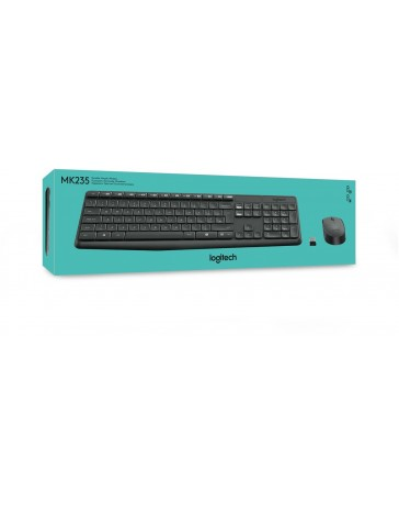 Logitech MK235 - Toetsenbord en muis set
