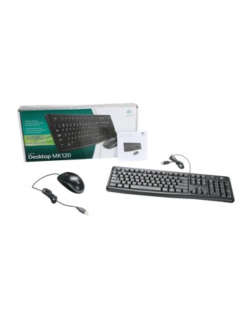 Logitech Desktop MK120 (Azerty BE)