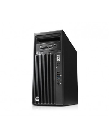 HP Z230 Workstation MT Intel Xeon QC E3-1280V3 16GB DDR3 2TB HDD Win 10 Pro