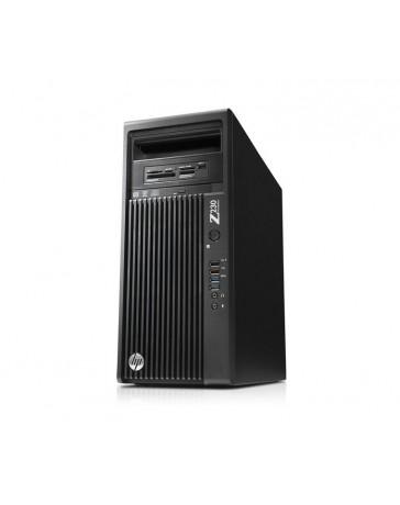 HP Z230 Workstation MT Intel Xeon QC E3-1280V3 32GB DDR3 2TB HDD Quadro K4000 Win 10 Pro