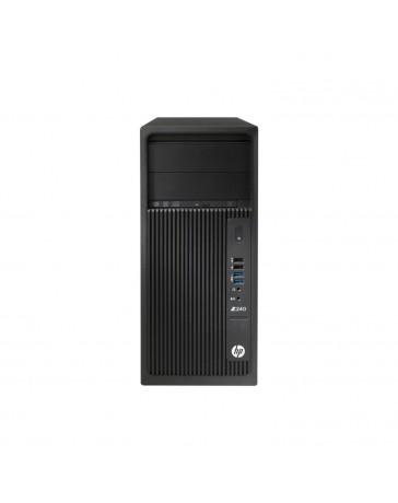 HP Z240 MT I7-6700 3.40GHz, 16GB DDR4, 256GB SSD / DVD, Quadro NVS 310 2xDP, Win 10 Pro