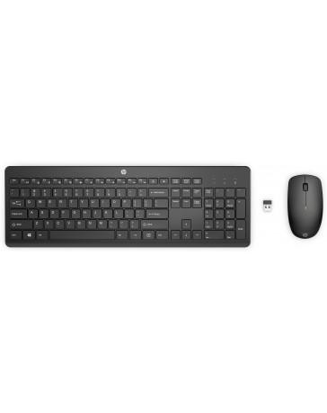 HP 235 en RF Draadloos Zwart toetsenbord en muis