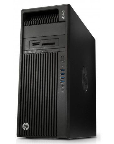 HP Z440 Workstation XEON E5-1650V3 3.50GHz, 64GB DDR4, 512GB SSD + 2TB SATA HDD, Quadro K4200 Win 10 Pro