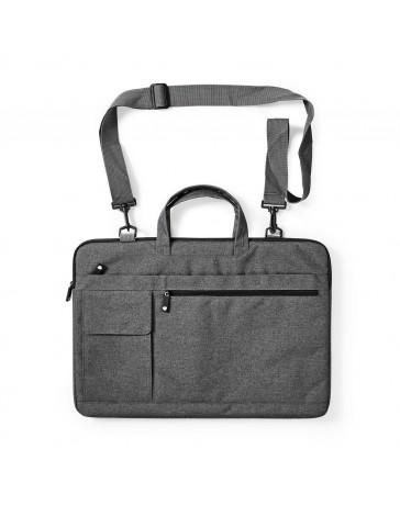 """Notebook Bag Shoulder Strap 8 Storage Pockets 17"""" to 18"""""""